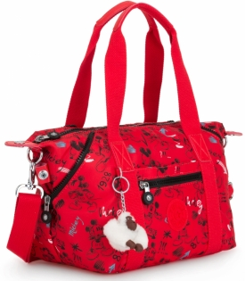 Kipling ART MINI/Sketch Red  Сумка двуручн. (13л) (34x21x18,5см)