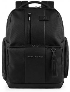 "Piquadro BAGMOTIC/Black  Рюкзак с отд.д/ноут15,6""/iPad Air/Pro /RFID/USB/micro-USB/антивор/CONNEQU(30,5x42x18"