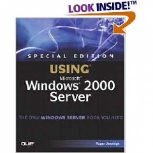 SE Using Windows 2000 Server + CD