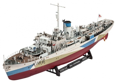 Корвет Flower Class Corvette HMCS Snowberry, 1:144, Revell