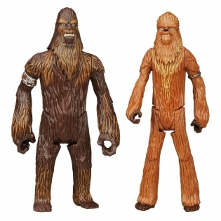 Wullffwarro и Wookiee Warrior фигурки 10 см, Star Wars, Hasbro, Wullffwarro и Wookiee Warrior