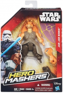 Джа Джа Бинкс Hero Mashers фигурка 15 см, Star Wars, Hasbro, Jar Jar Binks