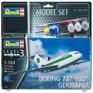 Model Set Самолет Boeing 727-100 Germania, 1:144 Revell